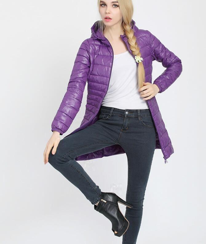 Buy Down Winter jacket Women's Slim Hooded Parkas Jacket Woman Warm Parkas Coat girl Down jacket coat at Jessikas Tops for only $48.99 USD #jacketswomen