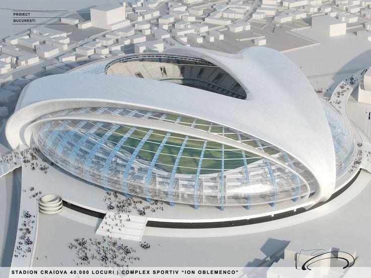 Craiova Football Stadium Proposal / Proiect Bucuresti