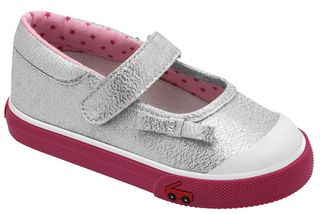 1-3 YEARS: Bridget - Silver >> Girls Spring 13. $49.95 AUD *Australia & NZ customers only