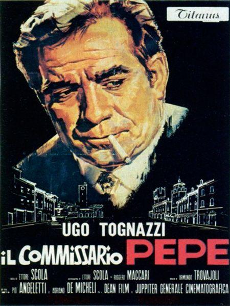 """1970- Mejor Actor: Ugo Tognazzi, por """"Il Commissario Pepe"""" (El comisario Pepe) #FilmFest #MDQ #MardelPlata #Cine"""