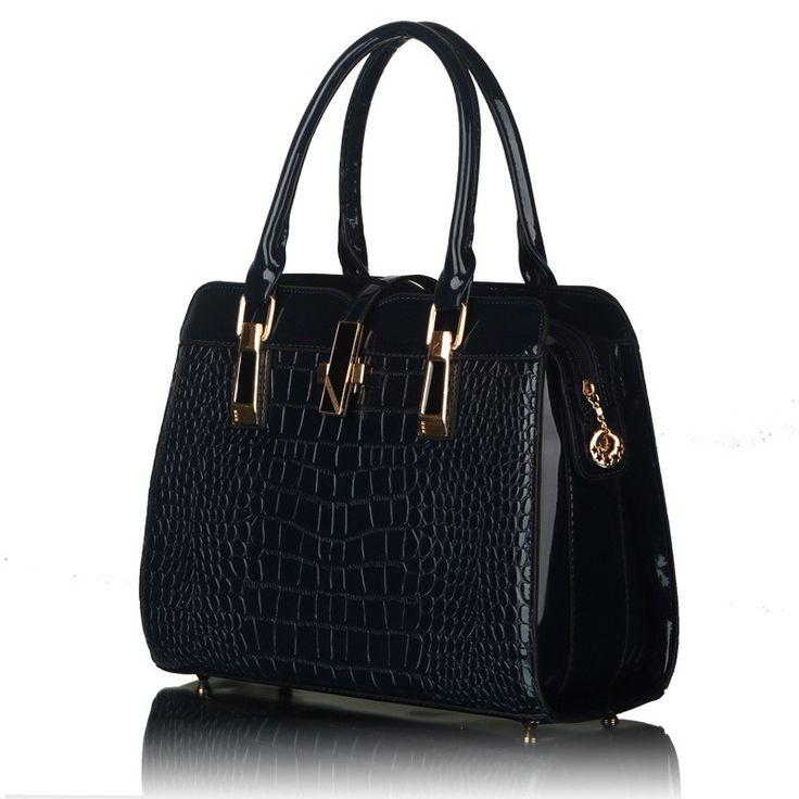 Купить Сумки Женщины 2015 новый бренд кожаная сумка крокодил мода стиль ноутбук сумки оптом, сумка…