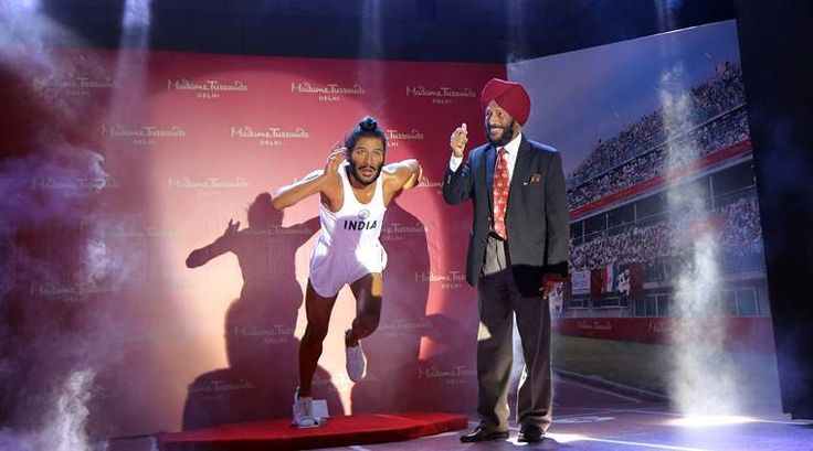 Milkha Singh's wax statue unveiled in Chandigarh - The Indian Express #757Live