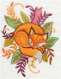 Fox embroidery                                                                                                                                                                                 More