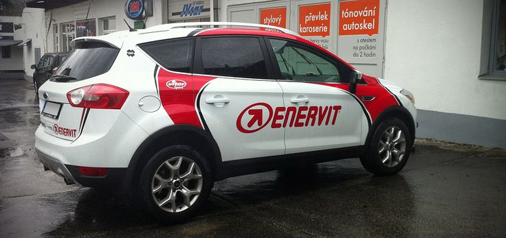 Enervit (Ford Kuga) - design and wrap of a company car.