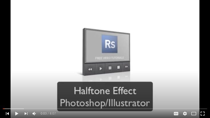 Illustrator Halftone Effect Tutorial