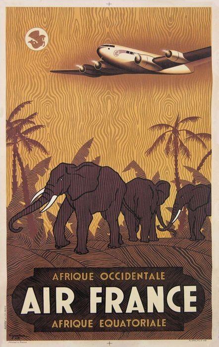 Afrique - Air France