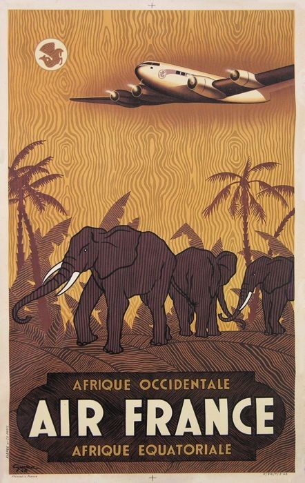 Afrique - Air France                                                                                                                                                                                 Plus