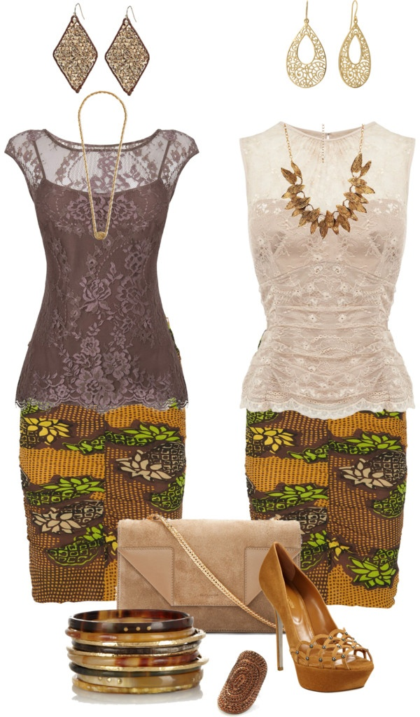 """Simple Kebaya"" by dianidiani ❤ liked on Polyvore"