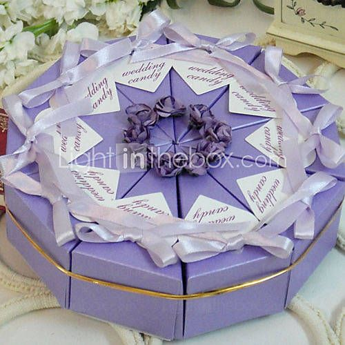 Lilac Cake Favor Box (Set of 10) & 288 best Cake Boxes images on Pinterest | Cake boxes Paper cake ... Aboutintivar.Com