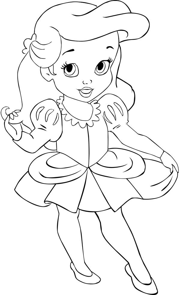 105 best ariel images on pinterest little mermaids the for Baby mermaid coloring pages