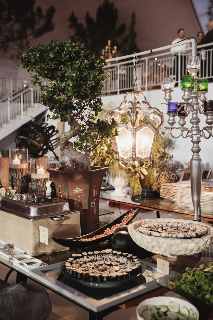Estoril Open Dinner Buffet - Casa do Marquês #catering #food #dinner #buffet #event #estoril #decor #casadomarques