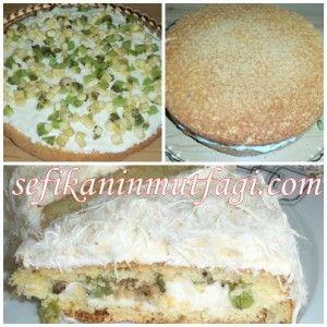Pişmaniyeli Yaş Pasta #pasta #pastatarifi #pişmaniye #kek #cake #recipes #yummy http://sefikaninmutfagi.com/pismaniyeli-yas-pasta/