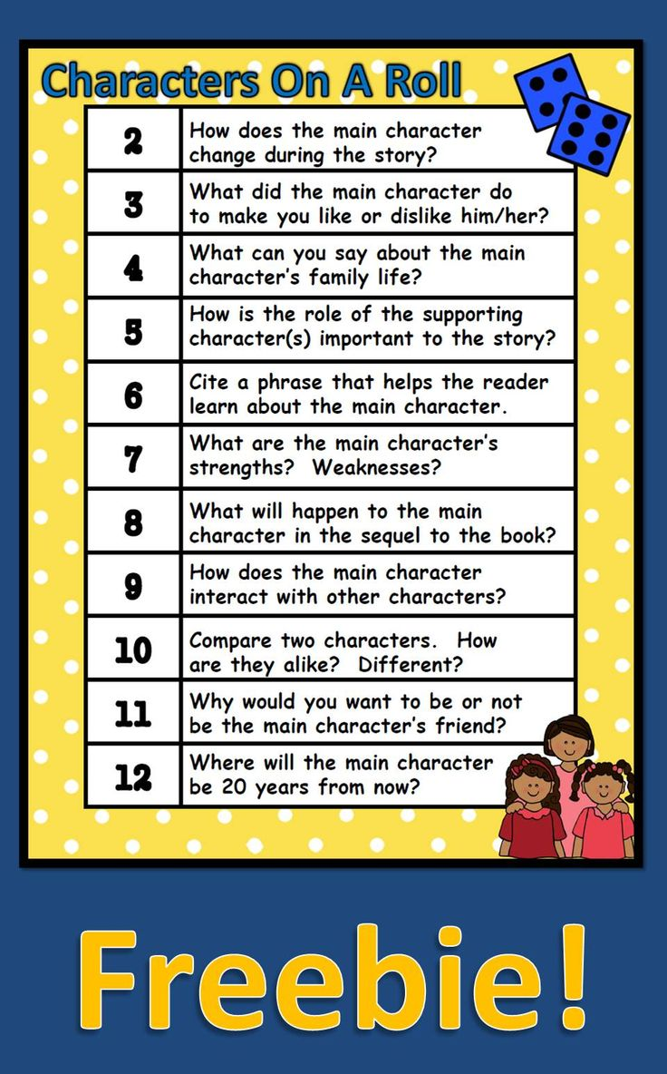 I love to use this during guided reading or with pairs of students.  We use this before reading to review, during reading, and after reading. Please note that this is part of a characterization packet filled with activities you can use with any story or book.  If you are interested, check out the packet in my store.  Thanks!