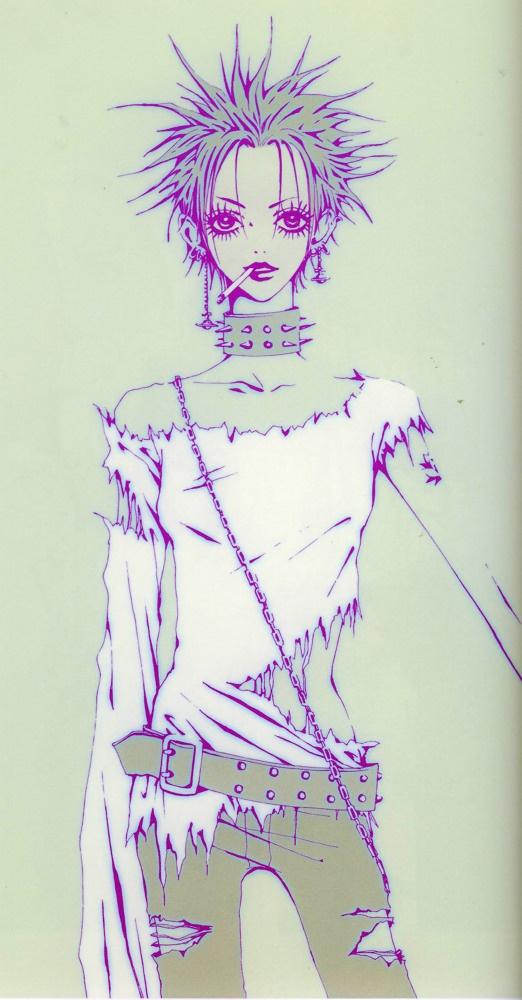 Nana Osaki. MY FAVOURITE CHARACTER IN EVERY ANIME EVER