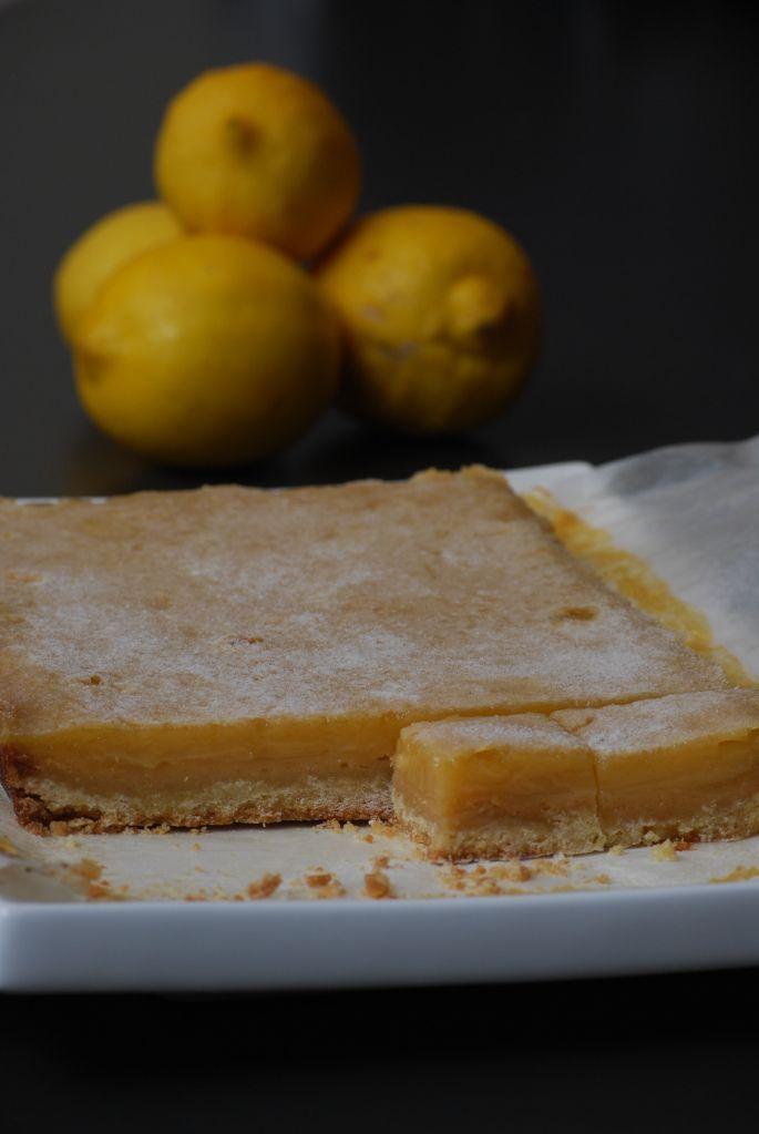 Lemon Squares - Donna Hay