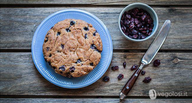 La torta ai mirtilli senza glutine è un dolce veloce perfetto per una colazione o una merenda golosissima.