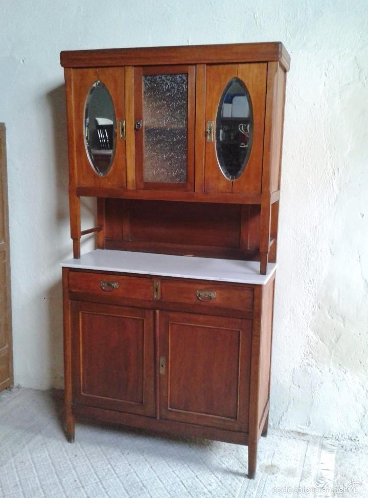 aparador antiguo alacena antigua con espejos ovalados aos aparador vintage alacena