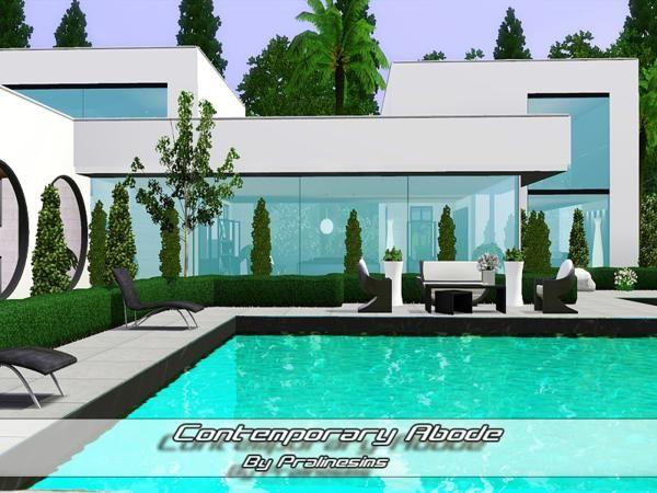 88 Besten Sims 3 Houses Bilder Auf Pinterest | Sims 3, Minecraft ... Sims 3 Wohnzimmer Modern