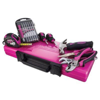Pink Craftsman tools