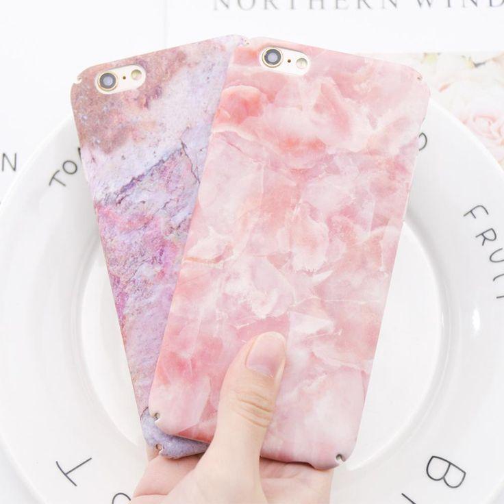 Marble Case For iPhone Hybrid 360 Full Body Shockproof Cover - Kaptelli Store