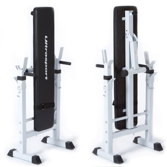 Ultrasport Fold Up Weight Bench Maximum Total Load 200 Kg Maximum Weight Load On Rack