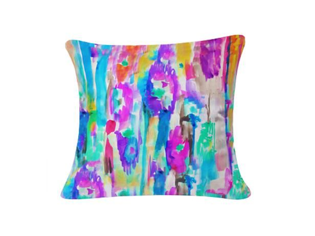 The watercolor trend looks perfect in this pillow #hgtvmagzine http://www.hgtv.com/decorating-basics/the-highlow-shopping-guide/pictures/page-60.html?soc=pinterest