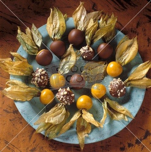 cape gooseberry on desserts - Google Search