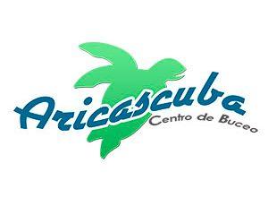 Logotipo diseñado para centro de buceo en Arica.