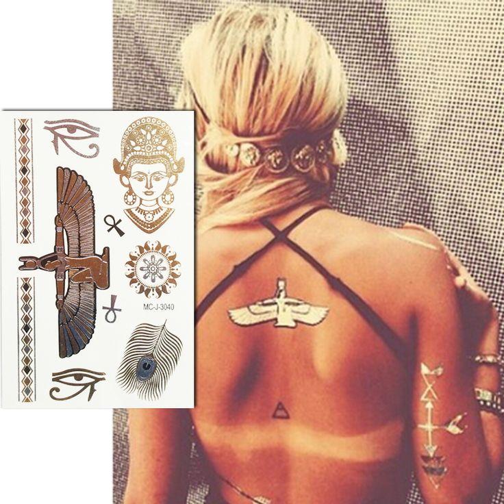 HOT Pulseiras maquiagem metalic mulheres flash tattoo designer de jóias tatuagem temporária tatuagem tatto ouro falso tatoo adesivo maquiagem em Tatuagens Temporárias de Beleza & saúde no AliExpress.com | Alibaba Group