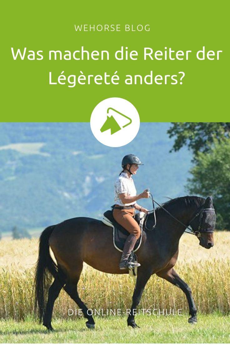 Was machen die Reiter der Légèreté anders? | Pferde