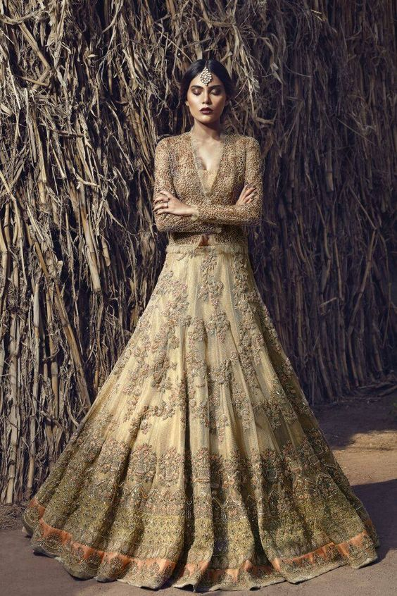 Indian Pakistani Bridal Anarkali Suits & Gowns Collection 2017-2018