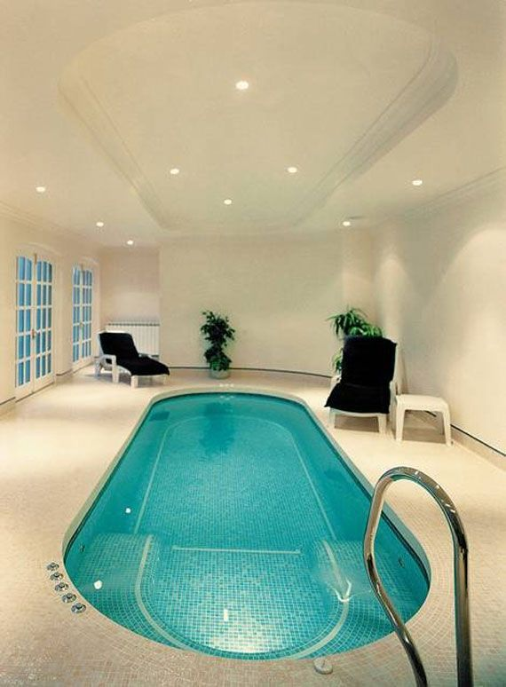 260 best indoor pool designs images on pinterest ad home courtyard pool and design interiors - Cool Indoor Pools In Houses