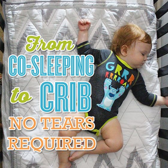 From Co-Sleeping to Crib – No Tears Required » Daily Mom