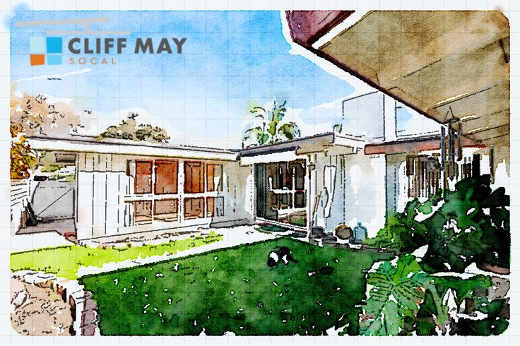 104 Best Images About Cliff May Mid Century Ranch On