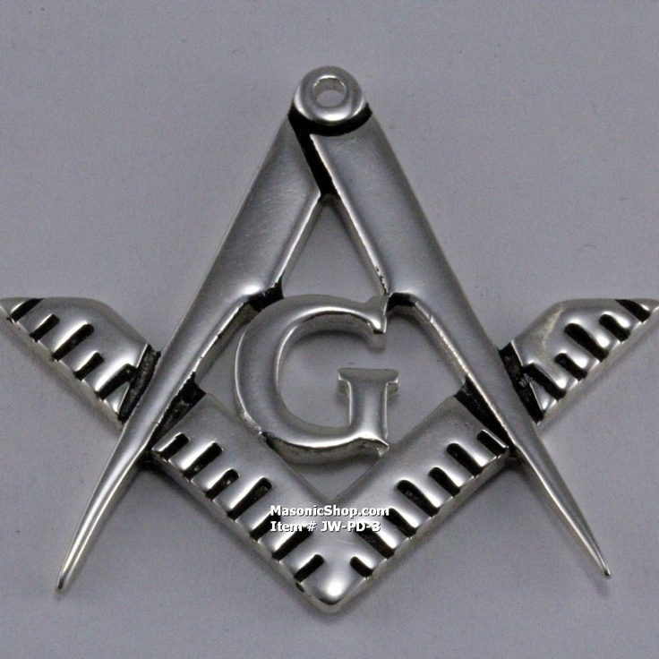 9 best masonic pendants images on pinterest compass freemason and solid silver square and compass pendant aloadofball Gallery