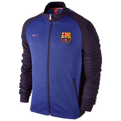 Barcelona Authentic N98 Jacket - Purple, Purple: Barcelona Authentic N98 Jacket - Purple The Barcelona… #Sport #Football #Rugby #IceHockey