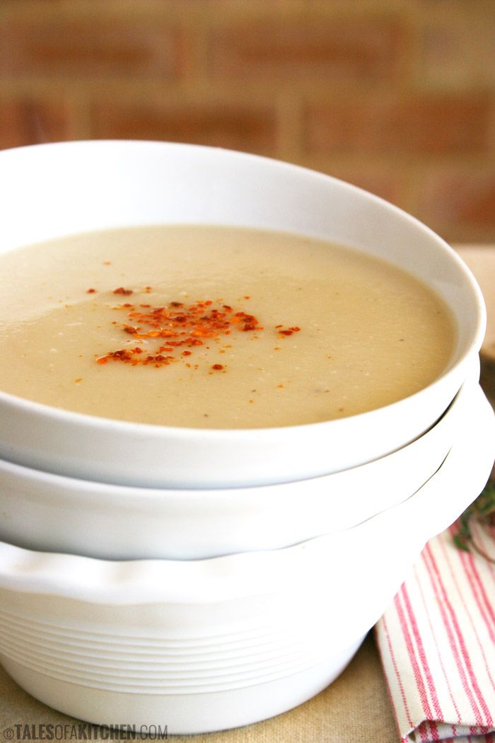 Super soft, earthy, creamy and truly scrumptious onion and turnip soup.
