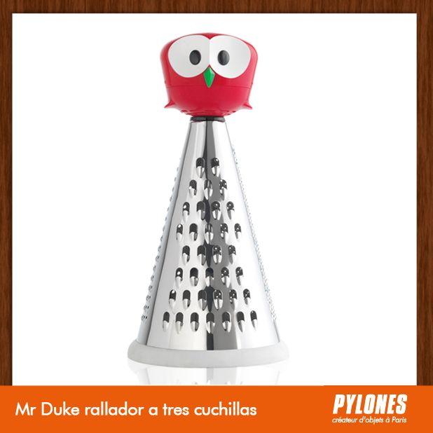 Mr Duke rallador a tres cuchillas rojo @pylonesco Pylones Colombia #navidad #regalos #pylones #novedades #new #gifts #christmas — en Colombia.