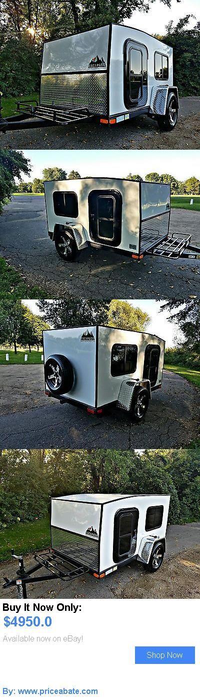 rvs: 5X8 Teardrop Trailer Mini Camper BUY IT NOW ONLY: $4950.0 #priceabatervs OR #priceabate