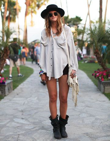 coachella: Hats, Festivals Style, Coachella, Fashion Style, Street Style, Outfit, Festivals Fashion, Music Festivals, Boots
