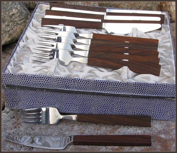 Triennale de Luxe cutlery, designed by Bertel Gardberg.