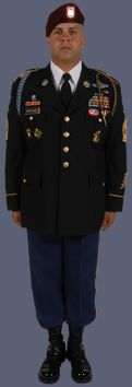 Class A Male Noncommissioned Officer Uniform