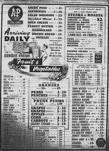 Vintage Food Advertisements of the 1940s (Page 3)