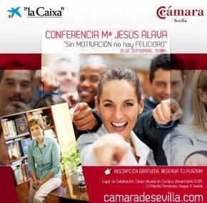 La psicóloga María Jesús Álava ofrece la conferencia 'Sin motivación no hay felicidad' en Sevilla