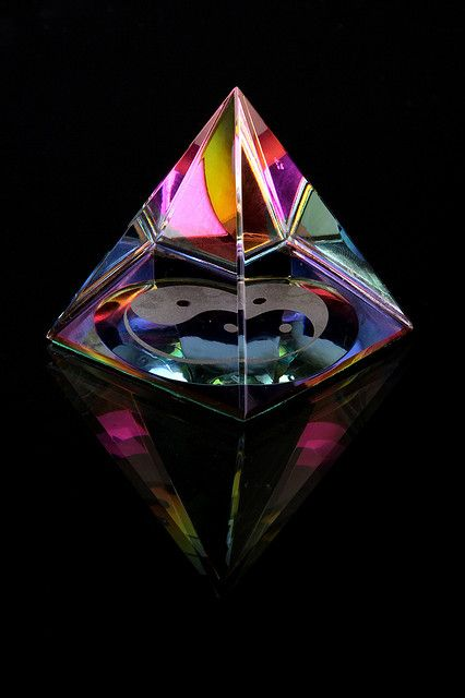 Glass Paperweight: