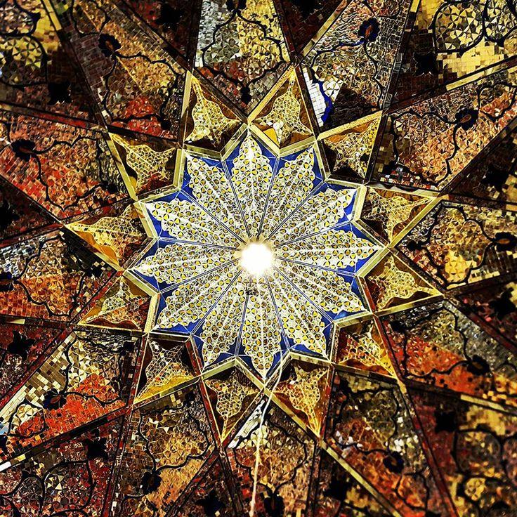 Les Plafonds étonnants de l'Architecture iranienne (6)