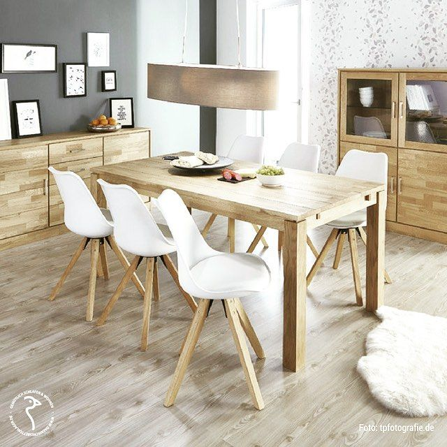 Aktion Gunstig Stuhle Esszimmerstuhle Tisch Vitrine Anrichte Sideboard Esszimmer Kuche Scandilook Scandinavian Scandinavianstyle