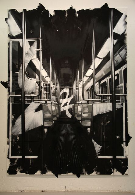 Pinturas-graffitis de Jussi Twoseven