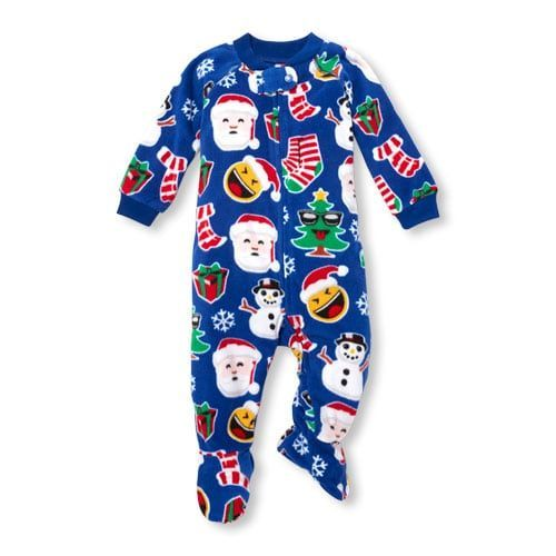 06d601c2c Unisex Baby And Toddler Matching Family Long Sleeve Christmas Footed ...