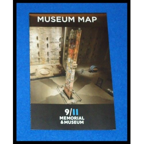 BRAND NEW UNBELIEVABLE 9/11 MEMORIAL AND MUSEUM MAP BROCHURE NEW YORK ATTRACTION - $3.99